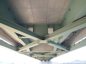 常磐新線江戸川橋梁